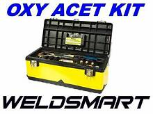 WELDSMART - OXYGEN / ACETYLENE GAS CUTTING & WELDING KIT  PREMIUM Canning Vale Canning Area Preview