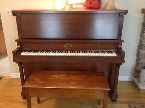 Upright piano -Make me an offer!  Come and get it!