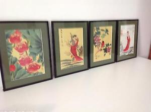 Set of Japanese silks Durack Brisbane South West Preview