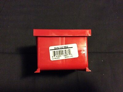 Lot Of 24 - Quantum Stackable Storage Systems Qus 210 Red Ultra Bin
