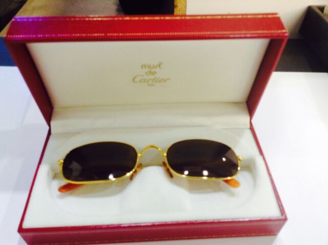 Gold cartier eyeglasses
