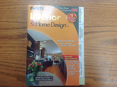 """""""Brand New"""" Punch Interior & Home Design Suite - Version 17.5 - for PC"""