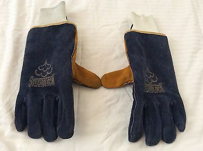 Shelby Steamblock Gloves Size L EUC