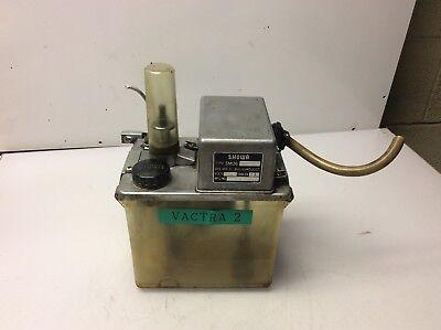 Showa Lubrication System, 200 V, SMD6 30F30, Dis Vol. 3-6 cc/cy, Used, Warranty