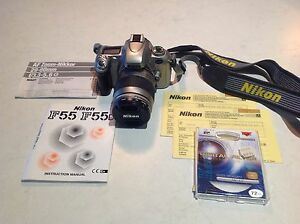 Nikon F55 35mm film camera Jannali Sutherland Area Preview
