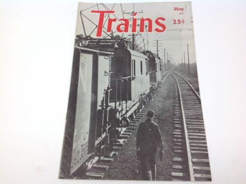 Vintage Trains Magazine May 1945