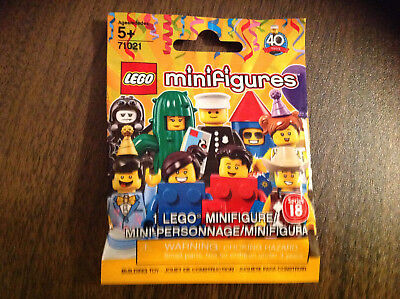 Hero Factory Costumes (New Sealed LEGO Series 18 Birthday Cake Guy Collectible Costume Minifigure)