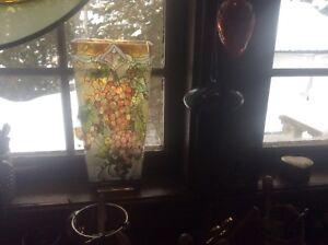 Pot à fleur en verre