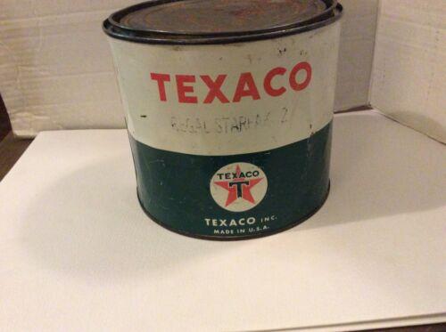 VINTAGE TEXACO 5 LBS GREASE CAN