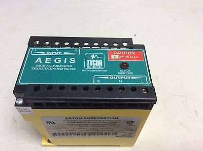 Aegis Tycor Eaton Ags-120-5-x Transient Noise Filter 120 Vac 5 Amp Ags1205x