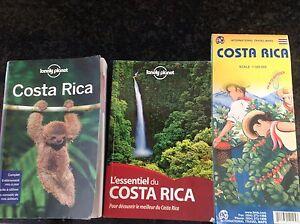 Guides de voyage pour le Costa Rica, en français