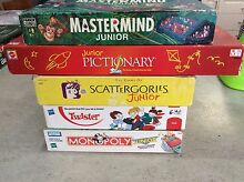 Junior BOARDGAMES For sale as a bundle of 5 Rothwell Redcliffe Area Preview
