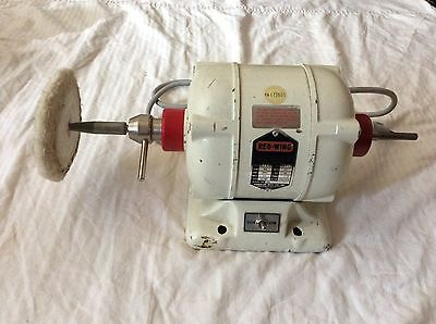 Handler Red Wing Lathe Model 26a With Buffing Attachment
