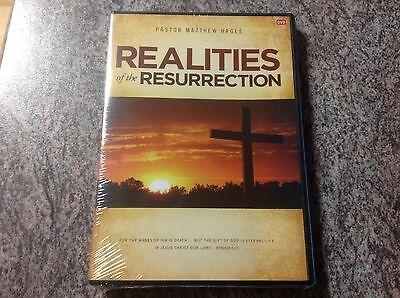 Matthew Hagee- Realities of the Resurrection 3-DVD SET Brand New Shrnkwrapped