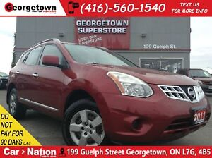 2011 Nissan Rogue S   ALL WHEEL DRIVE   2.5L   AUX IN  