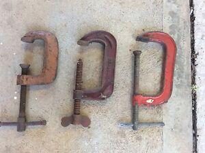 3 clamps Burton Salisbury Area Preview