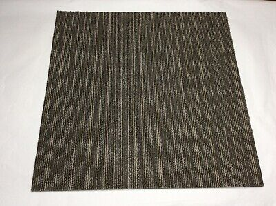 """PACK of 20 (80 sq.ft) Carpet Tiles 24x24"""" Squares Shaw Brand Commercial Grade"""