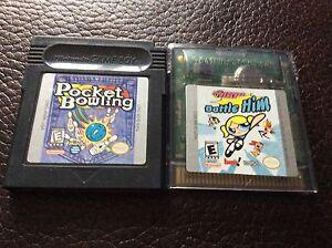 2 jeux Gameboy/Gameboy Color