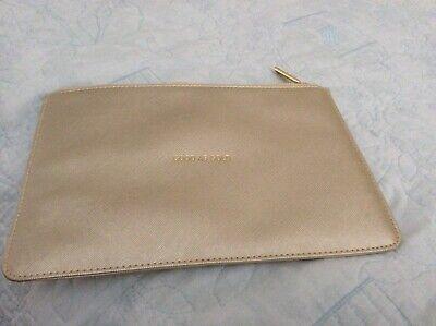 Katie Loxton metallic gold pouch