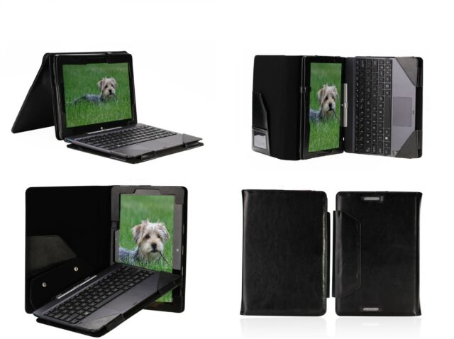 """PU Leather Keyboard Case/Cover for 10.1"""" Asus Transformer Book T100 T100T T100TA"""