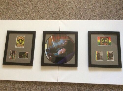 Bob Marley picture disc Gold collection 70-71 and bob cards and poster cards