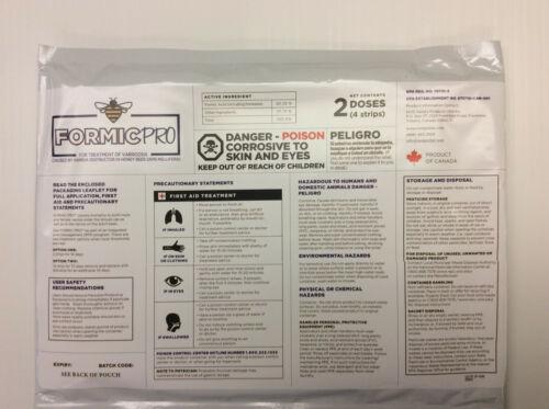 Formic Pro 2 Dose Varroa Treatment Free Shipping