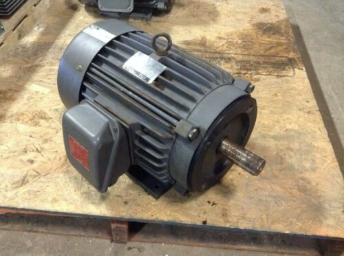 GE General Electric 5KE215KC205 10 HP 1755 RPM 230/460 VAC AC Motor 215TCY