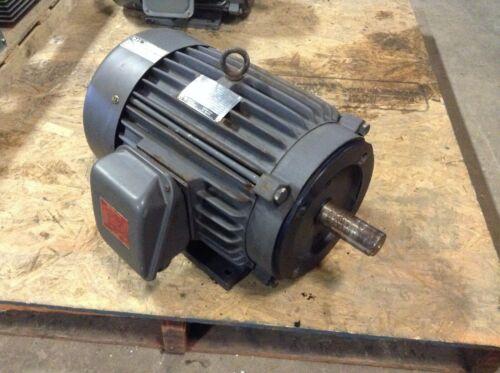GE General Electric 5KE215KC205 10 HP 1755 RPM 230/460 VAC AC Motor 215TCY