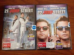 Brand new DVDs - 21 & 22 Jump Street Preston Darebin Area Preview