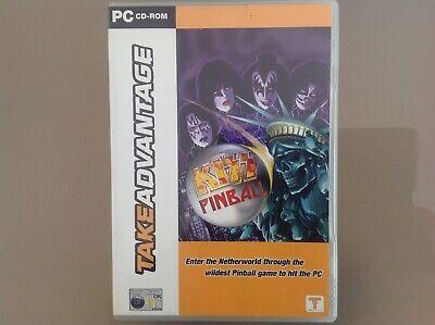 TAKE ADVANTAGE - KISS PINBALL PC CD-ROM - GOOD CONDITION