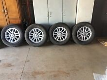 Genuine Toyota Hilux SR5 Rims and Tyres Balaklava Wakefield Area Preview
