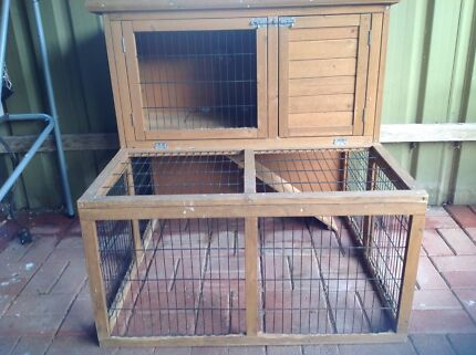 Wanted: Double story Rabbit/Guinea Pig Hutch