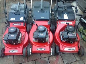 All 4 stroke mowers all ready to mow Kotara Newcastle Area Preview