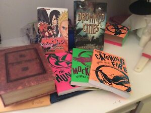 Naruto manga, Hunger games catching fire sires, Dictionary safe