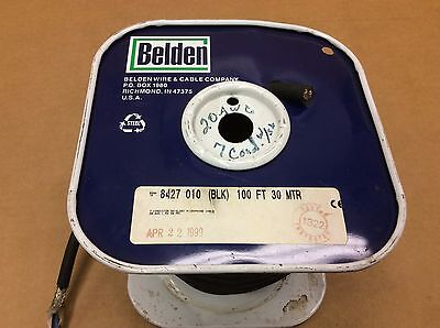 Belden Multi-conductor Wire 207 20 Awg 7 Conductor Shielded 8427 8427010100