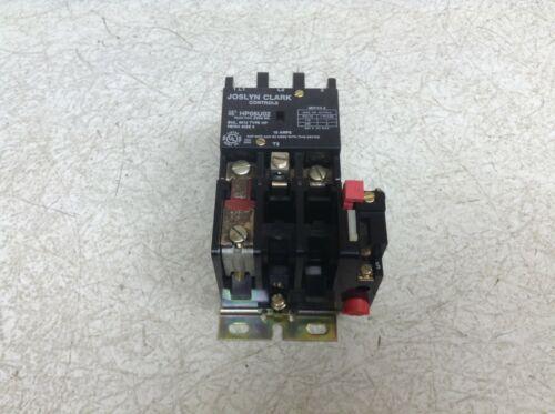 Joslyn Clark HP05U02 Single Phase Contactor Size 0 6013 HP 24 VAC Coil (TSC)