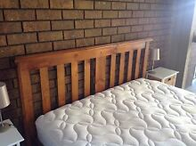 Queen bed and mattress for sale Adamstown Newcastle Area Preview