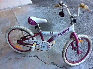 Pink/purple and white  Kids bike Mount Gravatt Brisbane South East Preview