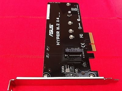 ASUS HYPER M.2 X4 ACCESSORY FOR ASUS RAMPAGE V EXTREME & OTHERS,ORIGINAL  ONE