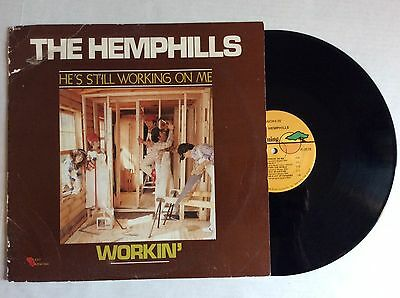 1980 The Hemphills WORKIN' He's Still Working on Me vinyl LP Heart Warming