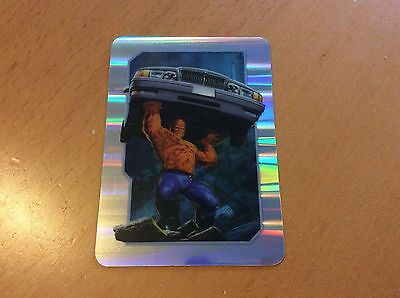 Fantastic Four Plastic Trading Cards