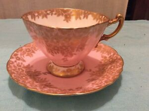 Rare vintage Hammersley & Co. Bone China tea cup and saucer