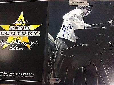 Leaf Pop Chick Correa Autograph Auto Signed 8x10 Photo Authentic PSA/DNA