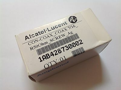 New Alcatel Lucent Terminator Load 716 Male 50 Ohm 10w 1ab428730002 Dummy Coax