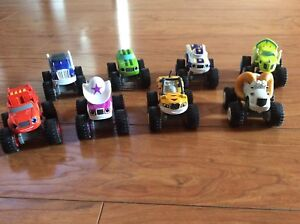 Blaze and the monster truck toys