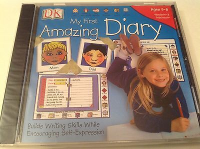 My First Amazing Diary Win/Mac Dorling Kindersley Elementary Grade Ages 5-8