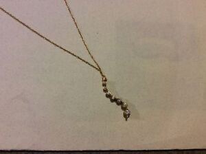 GOLD AND DIAMOND NECKLACE**REDUCED**
