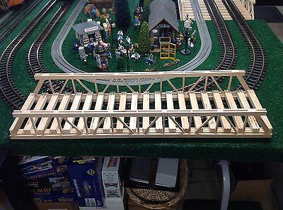 G scale lgb pola g custom wooden train bridge for sale  West Islip