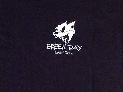 Green Day Revolution Radio Local Crew T Shirt Black XL