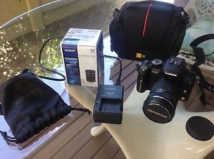 LUMIX G10 digital SLR camera with Olympus 40-150 digital lens Innaloo Stirling Area Preview